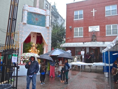 little italy san gennaro festival history most precious blood rectory manhattan nyc